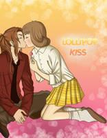 Irvine x Selphie-Lollipop kiss by pallottili