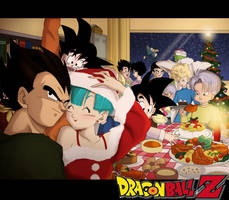 Merry DBZ Christmas by pallottili