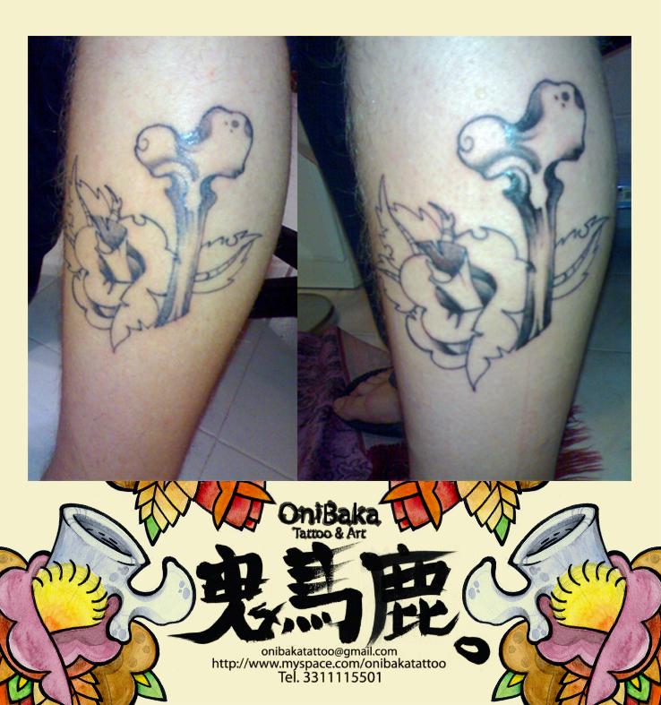 oni tattoos. oni tattoos. gun tattoos