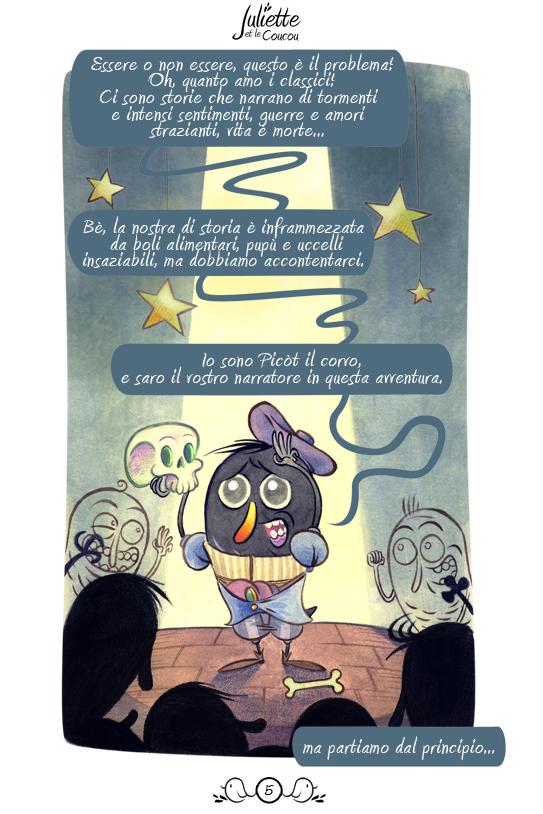 Juliette et le coucou page by OniBaka