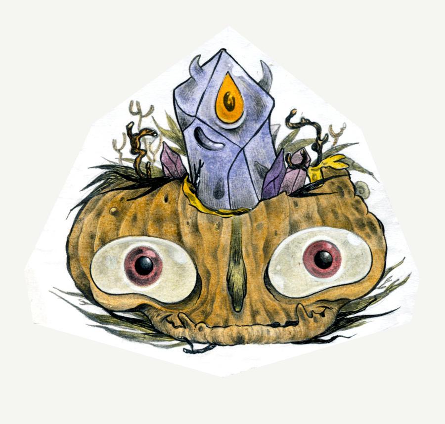 Living pumpkin symbiosis 2 by OniBaka
