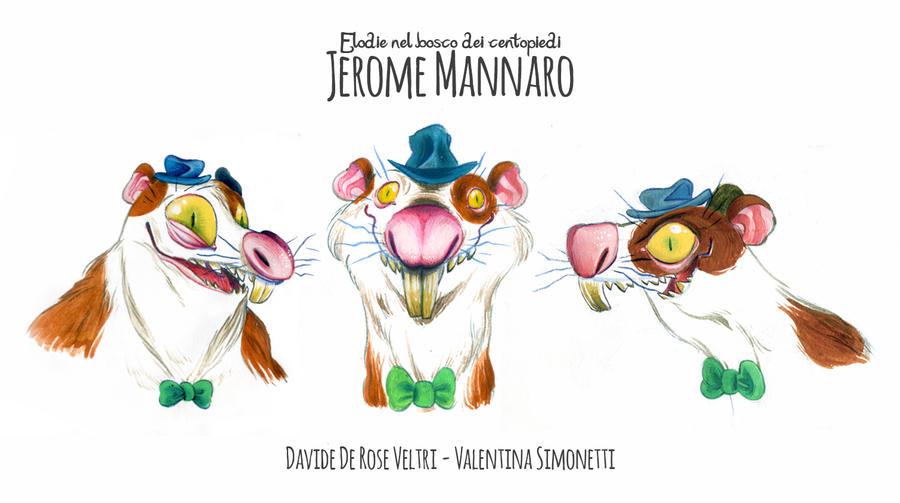 Jerome Prove Colore 2  by OniBaka