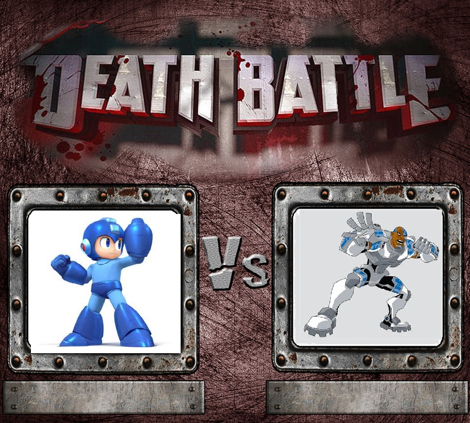 Create Your Own Death Battle   Rustmetal Template  by ProfessorSodaMan