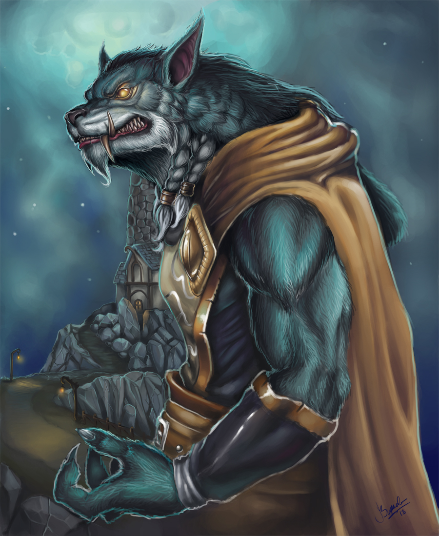 Greymane by Nutfullin on deviantART - 593.3KB