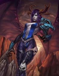 Demonic harpy