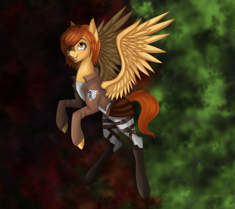 Attack on Titan Petra MLP by Derpsonhooves on DeviantArt