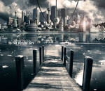 Glide Down to the Future City by ROMAgfx