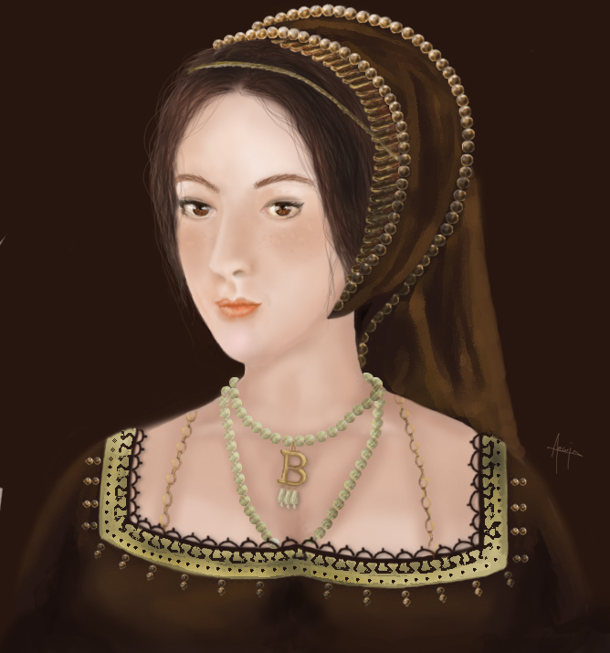 Anne Boleyn by Aewin