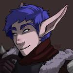 Portrait commission - ya boi pretty elf