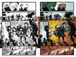 Color test page -Indestructible Hulk 11 page 7