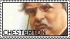G.K. Chesterton Stamp by NotSoFluent