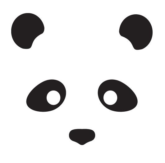 Panda Logo by papilia on DeviantArt