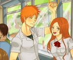 IchiHime - A normal day