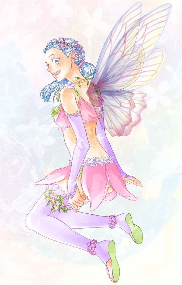 Flower Fairy by Peatchoune