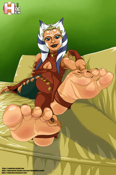 Star Wars (Clone wars) Ahsoka tano feet