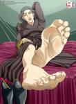 Lin's feet (the legend of korra)