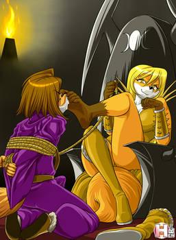 Lance captive by Hekate