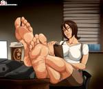 OC Moriah Vercetti feet