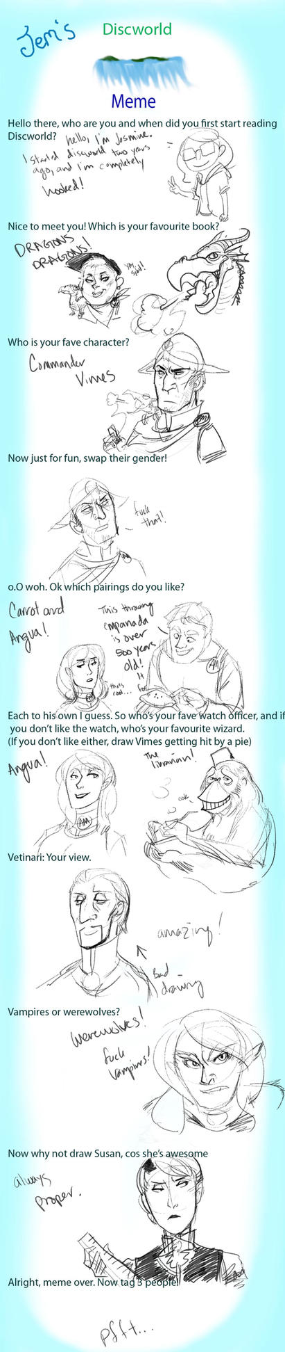 Discworld Meme by JasmineLea
