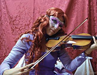 Godchild: Purple Violinist by CosWonderland
