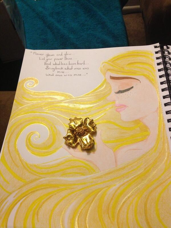 Flower gleam and glow tangled healing song by littleladyaquamarine mightylinksfo