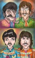 The Beatles by HammersonHoek