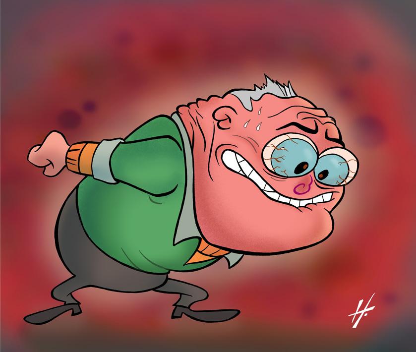 Angry George 2 by HammersonHoek