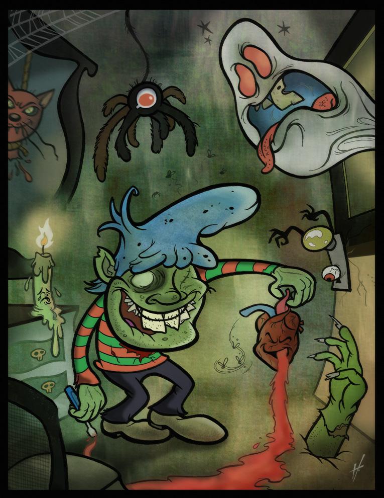 Strange Kid's Basement by HammersonHoek