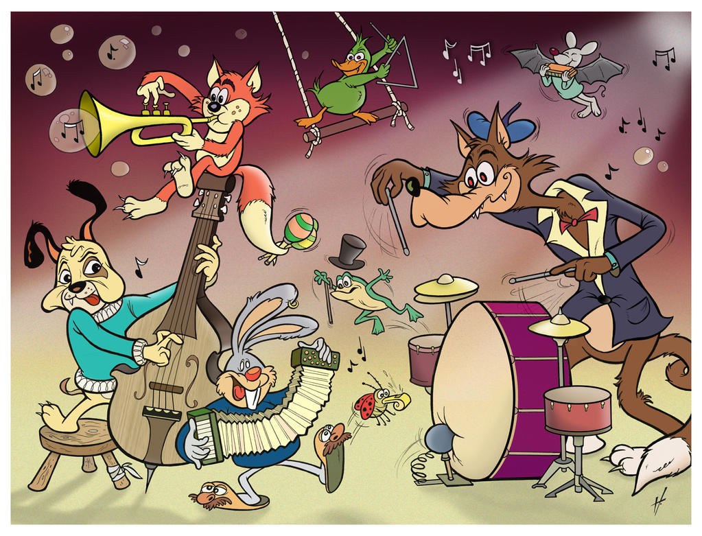 Jazz Animals by HammersonHoek