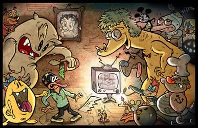 Cartoon Madness by HammersonHoek