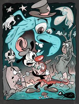 Halloween in Cartoonland revisited