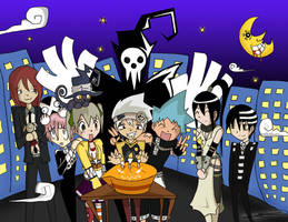 Soul Eater Happy Bday by Neko-Chan17