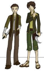 Sam and Dean: Avatari-fied by BeatFu