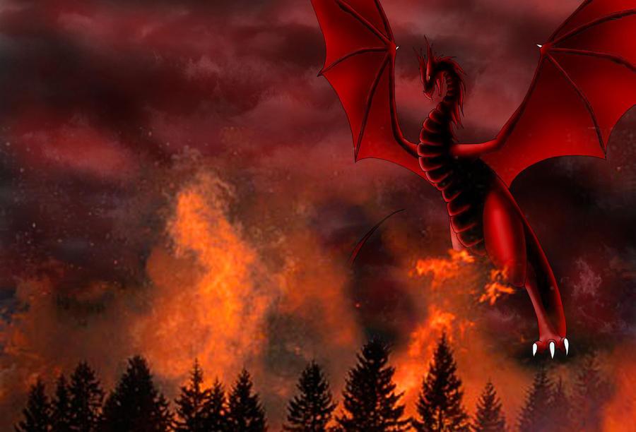 dragon wallpaper by Phantom-Akiko