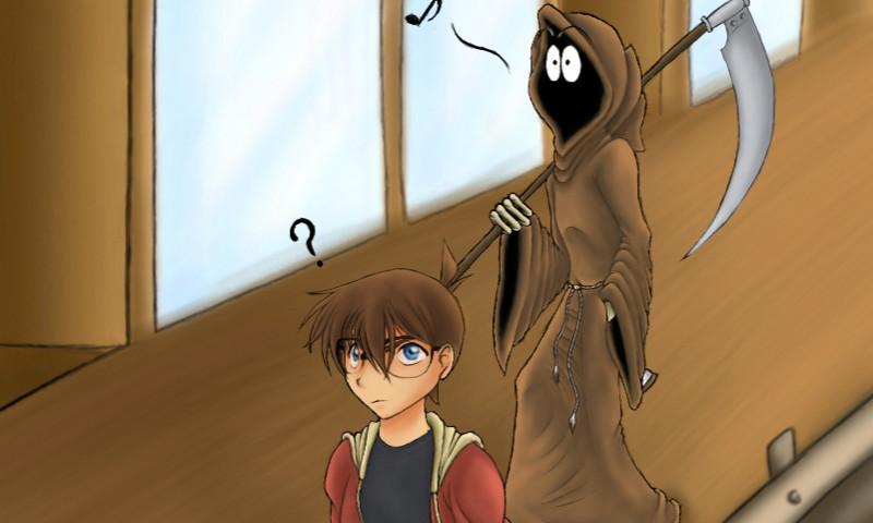 Conan und der Tod by Phantom-Akiko