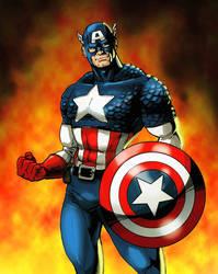 Captain America by Likodemus