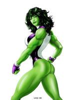 She-Hulk by Liko by Likodemus