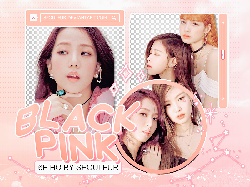 BLACKPINK / PNG PACK by seoulfur by seoulfur