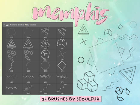 Memphis Brushes Pack #2