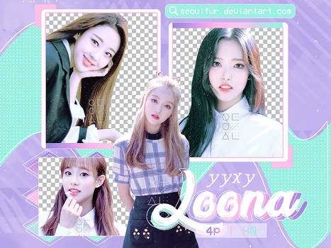 LOONA / YYXY / PNG PACK
