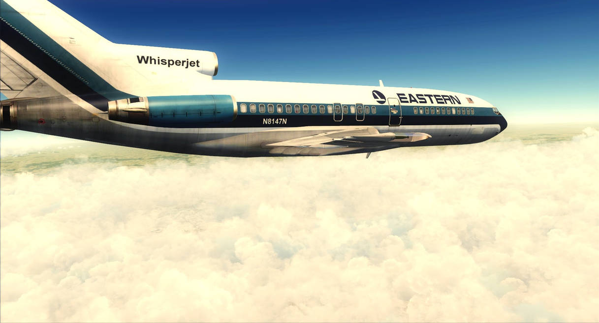 Boeing 727-200 Eastern Airlines - FSX by DeLorean-Gamer on