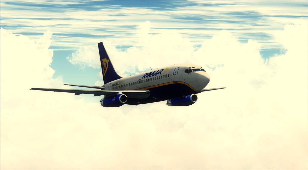 Boeing 737-200 Ryanair - FSX by DeLorean-Gamer on DeviantArt