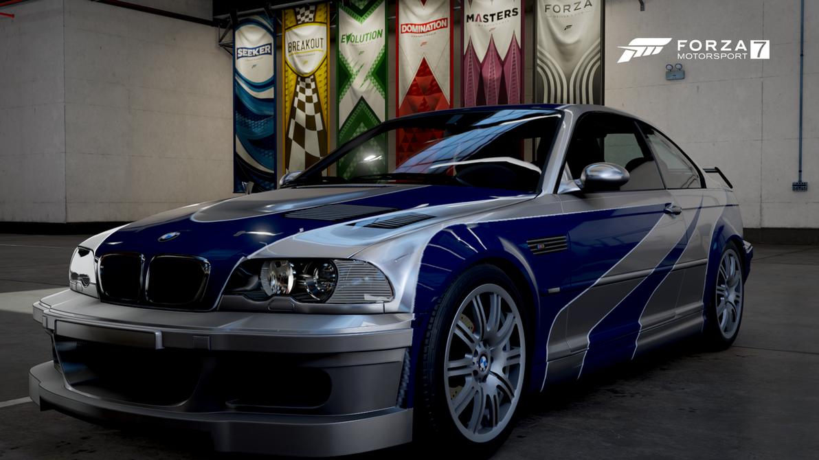 BMW M3 GTR NFSMW