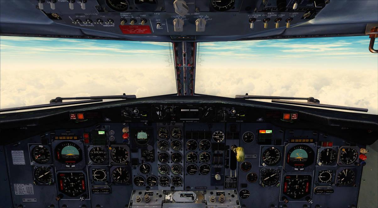 Boeing 737-200 Cockpit - FSX by DeLorean-Gamer on DeviantArt