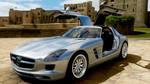 Mercedes SLS AMG - Forza Horizon 4 by DeLorean-Gamer