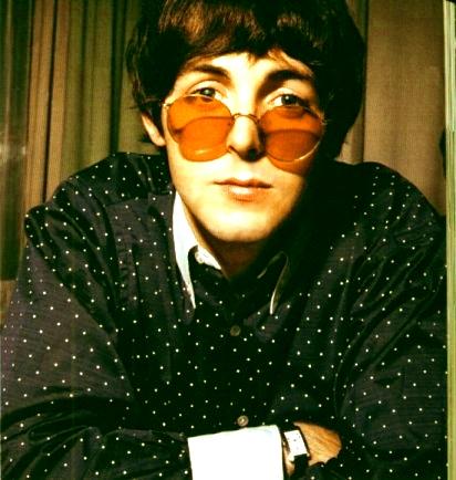 Paul McCartney Round Glasses By Sporklie