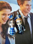 Edward and Bella Clay Earrings