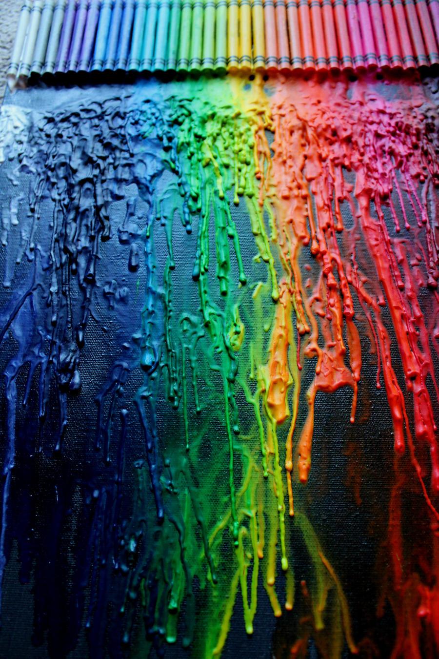 Crayon Art by PushyGirlTorella - 307.3KB