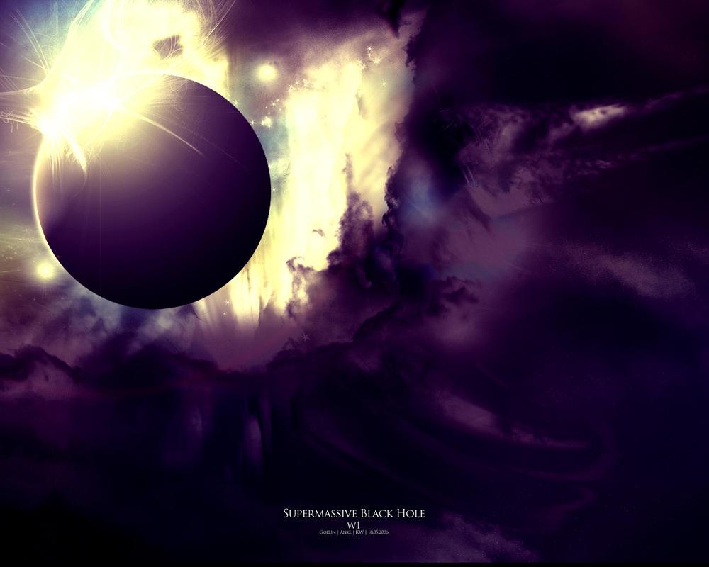 Supermassive Black Hole W1 By Gokun On DeviantArt