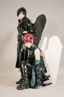 Angel Sanctuary: Cosplay 5 by Akusesu